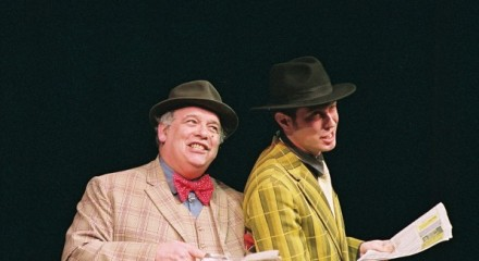 Paul in one of his many roles as Nicely Nicely from Guys and Dolls.