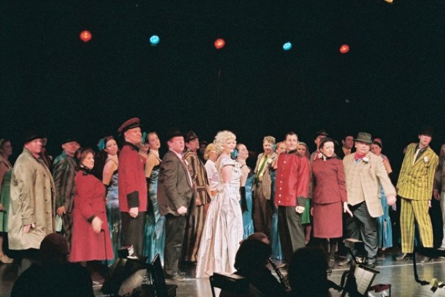 The Finale of Guys and Dolls, lets hope its not the Finale of The Smycms.