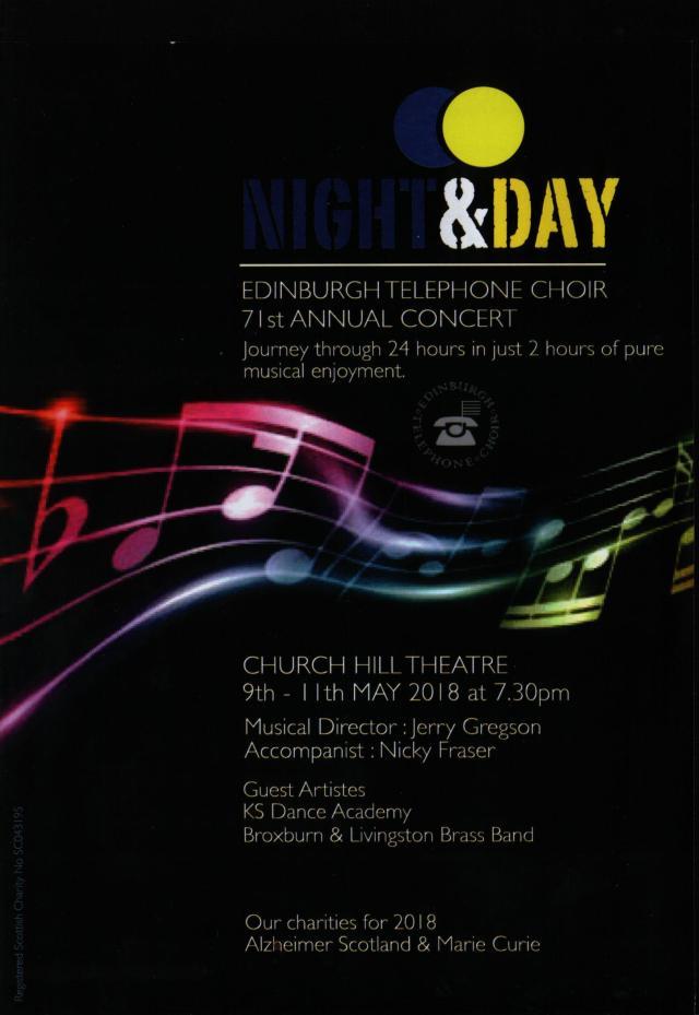 Edinburgh Telephone Choir Concert